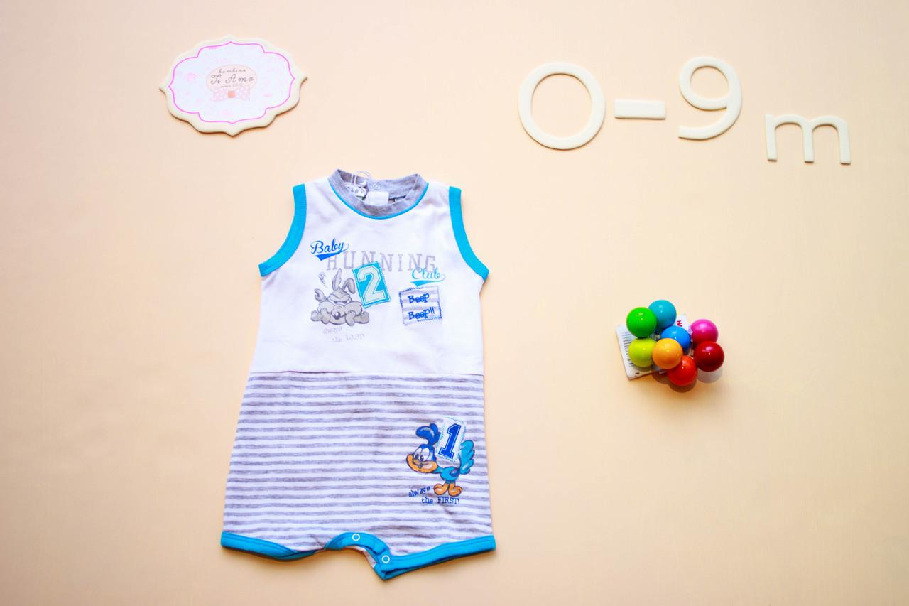 Песочник для мальчика Melby Италия 47051736WB голубой с белым