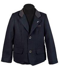 Детский пиджак для мальчика De Salitto Италия 53280-DL Синий