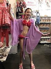 Детская пляжная туника для девочки BAEL Украина 5528 Фиолетовый