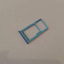 Сим-лоток для Xiaomi Redmi 6 / 6A Blue