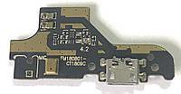 Разъем зарядки Meizu M6T (с платкой)