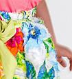 Нарядна спідниця для дівчинки Alice Pi Італія 6341 Білий, фото 4