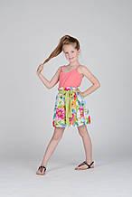 Нарядная юбка для девочки Alice Pi Италия 6341 Белый 140, , белый,
