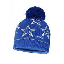 Детская шапка для мальчика MaxiMo Германия 63575-233400, синяя