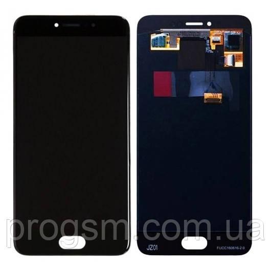Дисплей Meizu Pro 6 / Pro 6S OLED complete Black