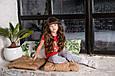 Детский спортивный костюм для девочки Colabear Турция 683000 Серый весенний осенний демисезонный, фото 6