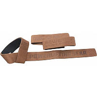 Кожаные лямки Power System Leather Straps Коричневые (PS_3320)