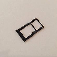 Сим-лоток для Xiaomi Redmi Note 7 Black