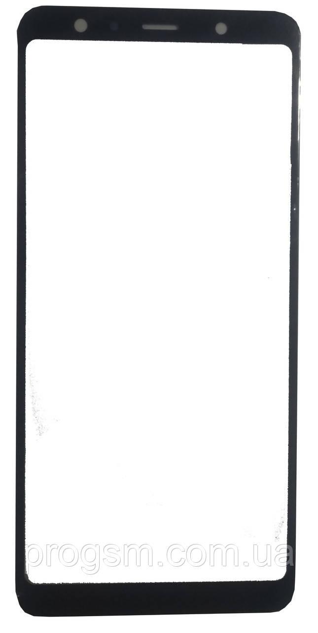 Стекло дисплея Samsung Galaxy A7 SM-A750 (2018 / для переклейки Black