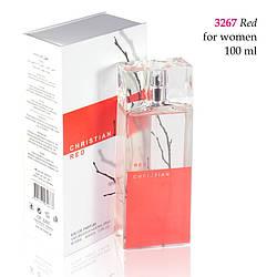 3267 RED Christian for women 100 ml