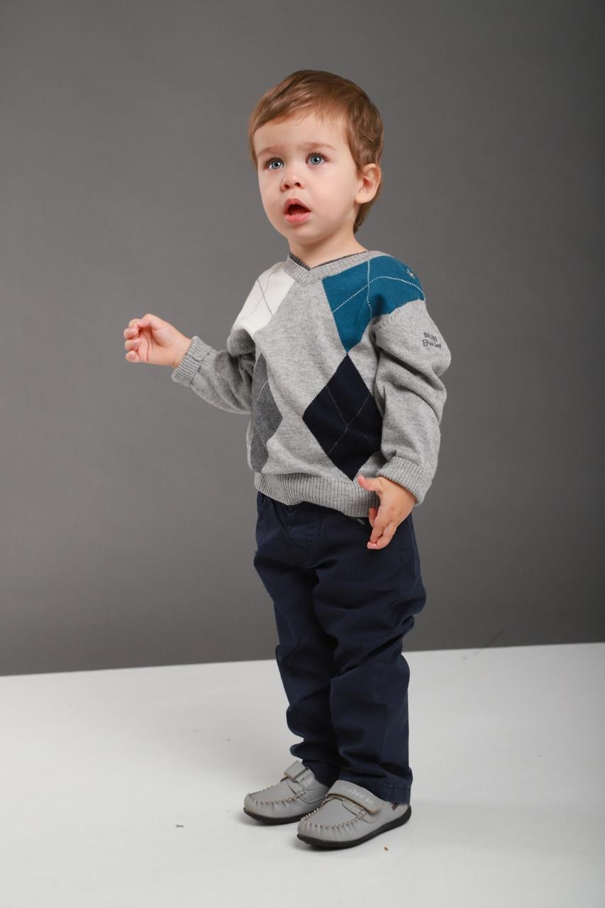Детские брюки для мальчика Melby Италия 73531429 синий
