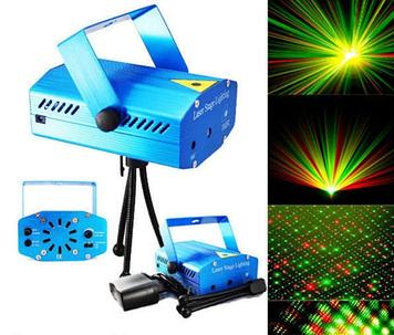 Лазерный проектор Диско LASER XL-S-D09 лазер шоу со световыми эффектами