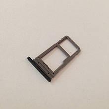 Сим-лоток для Samsung Galaxy S8 Black 1 SIM