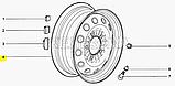 Диск колесный Нива Шевроле ВАЗ 2123 R15 6J 5X139.7, 21230-3101015-04-0, фото 8