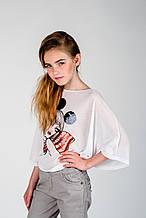 Демисезонные детские джинсы для девочки Krytik Италия 79519 / KR / 00A Серый