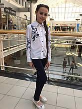 Школьные брюки для девочки Школьная форма для девочек PINETTI Италия 819011-B Синий 158, Синий,