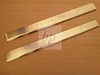 Защитные хром накладки на пороги Mercedes-benz vito/viano w639 (мерседес-бенц вито/виано) 2004-2014