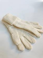 Дитячі рукавички для дівчинки MaxiMo Німеччина 92173-423800 молочні весняна осіння демісезонна 7,5