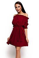 S-M | Жіноче повсякденне плаття-міні Milana, марсала