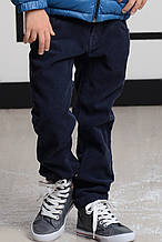 Детские утепленные брюки для мальчика TONI WANHILL Турция 9527 Синий 134, Синий,