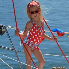 Детский купальник для девочки Archimede Бельгия A3220511 Красный