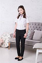 Школьные брюки для девочки Школьная форма для девочек Новая форма Украина B-Anna 36 (140) 32 (128) ,, черный,