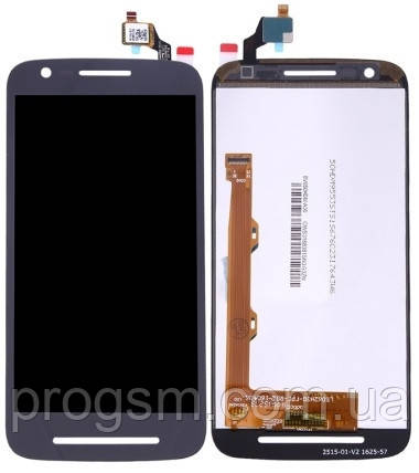 Дисплей Motorola Moto E3 Power XT1706 / XT1700 complete with touch Black