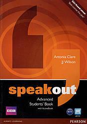Учебник  Speak Out Advanced Student's book +DVD
