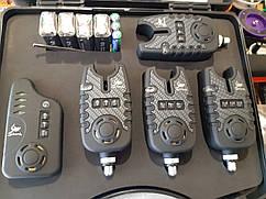 Набор сигнализаторов Shark 4 шт. + пейджер