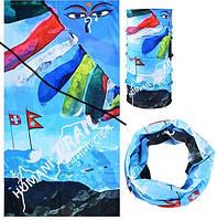 Летний бафф, buff Rockbros, бесшовный шарф, повязка (# 5017)