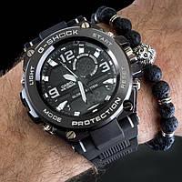 Мужские наручные  часы  Casio G-shock  белые