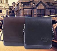 Мужская кожаная сумка Polo. Модель 0450, фото 2