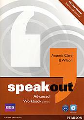 Рабочая тетрадь  Speak Out Advanced Work book +CD +key