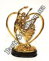 Статуэтка Пара золотая