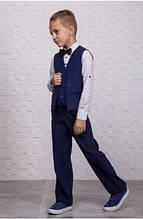Детский нарядный костюм для мальчика ТМ Suzie Украины KC-14701 128, Детский нарядный костюм для мальчика ТМ