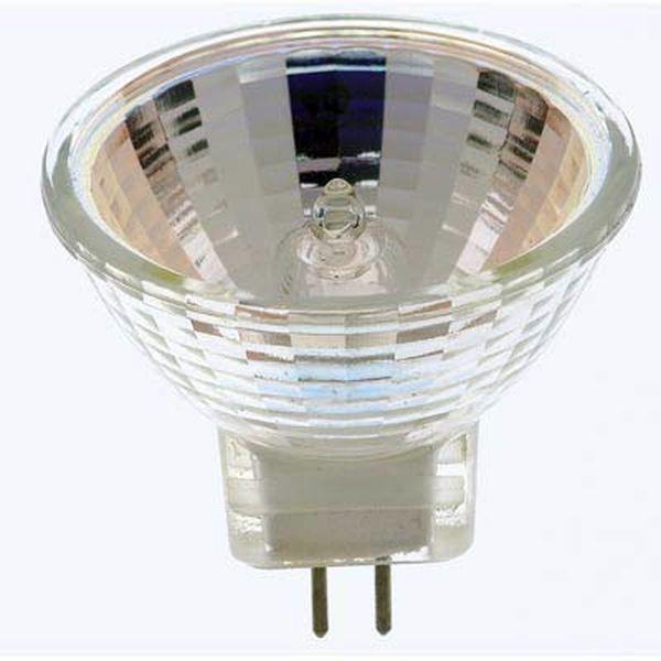 Лампа галогенная с отражателем 220v - 35w DELUX MR16 36* GU10