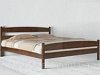 Кровать Ликерия с изножьем 120 х 200 см (орех темный)