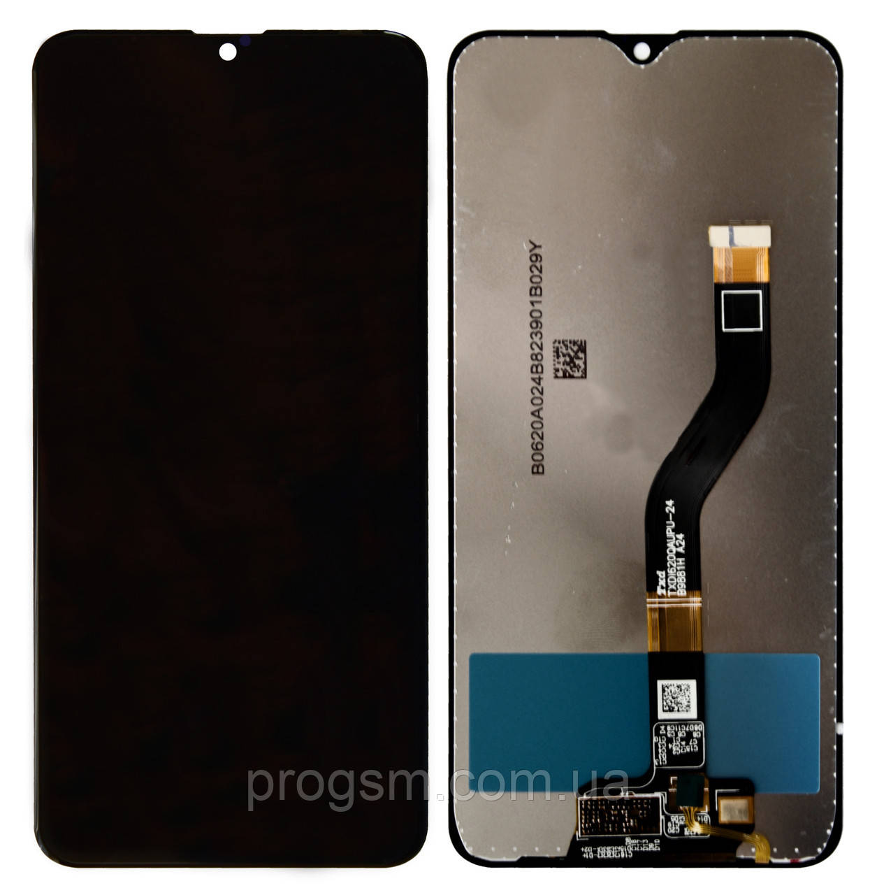 Дисплей Samsung Galaxy A10S SM-A107 (2019) complete with touch Black