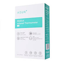 Электронный бесконтактный медицинский инфракрасный градусник термометр, для тела, предметов, фото 2