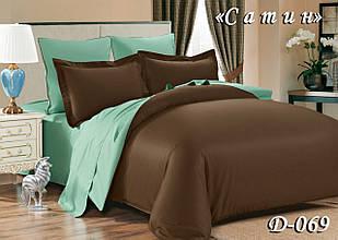 Комплект постільної білизни Тет-А-Тет двоспальне D-069