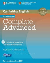Книга для учителя Complete Advanced Second Edition Teacher's Book with Teacher's Resources CD-ROM