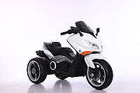 Детский электромотоцикл T-7223 White, белый