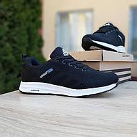 Женские кроссовки в стиле  Adidas NEO чёрные на белой, фото 1