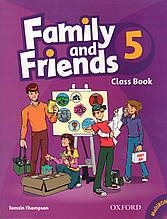Учебник  Family & Friends 5 Class book + MultiROM