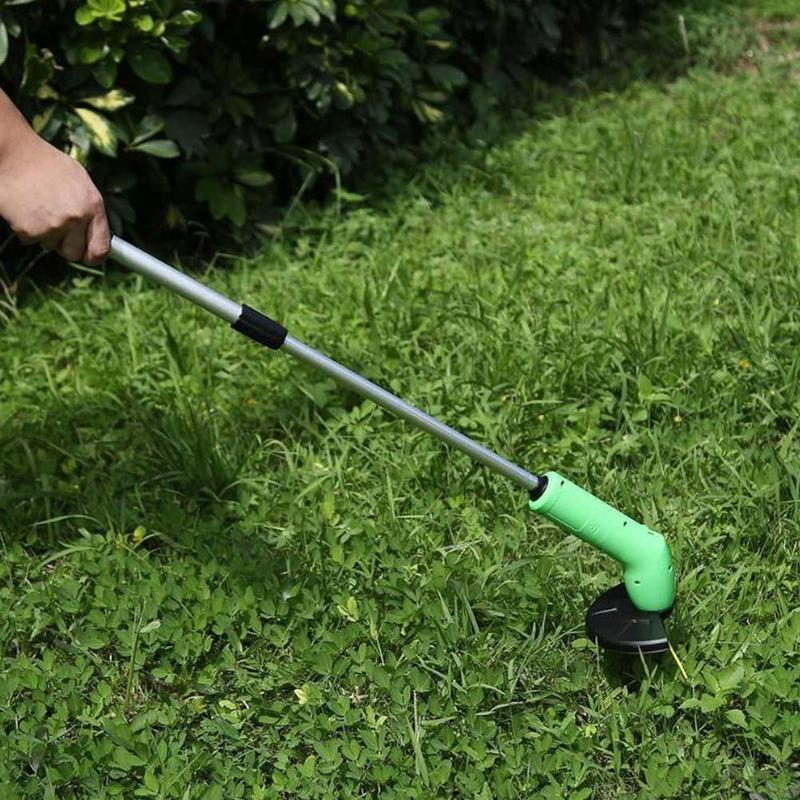 Триммер газонокосилка для травы и кустов Zip Trim беспроводная, газонокосилка портативная