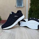 Чоловічі кросівки Adidas NEO (чорно-білі) 10077, фото 3
