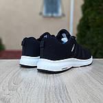 Чоловічі кросівки Adidas NEO (чорно-білі) 10077, фото 4