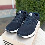 Чоловічі кросівки Adidas NEO (чорно-білі) 10077, фото 5