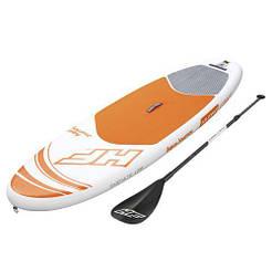 SUP-борд Bestway 65302, надувная доска для плавания с веслом, доска, весло
