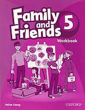 Рабочая тетрадь  Family & Friends 5 Work book